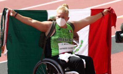 Rosa María Guerrero conquista el bronce en los Juegos Paralímpicos . Foto: Twitter