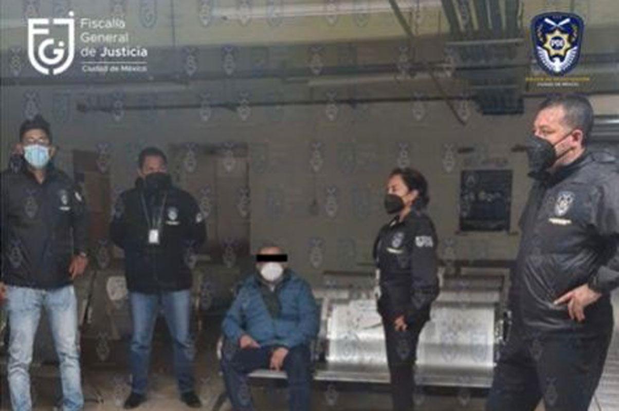 De la curul al reclusorio; detienen a Saúl Huerta Corona por violación