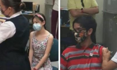 Natallie y Mario, primeros menores de edad, en recibir la vacuna de Pfizer