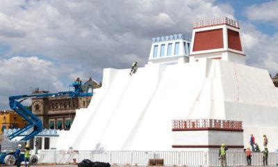 Resurge recinto sagrado del México-Tenochtitlan en el zócalo de la CDMX