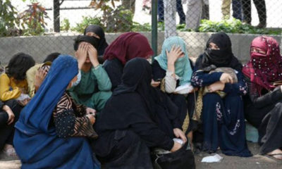México recibe solicitudes de refugio de mujeres y niñas afganas