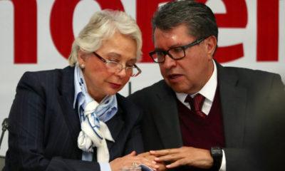 Monreal da la bienvenida a Sánchez Cordero en el Senado