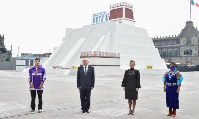 Ocupación española en Tenochtitlan, un retroceso histórico: López Obrador