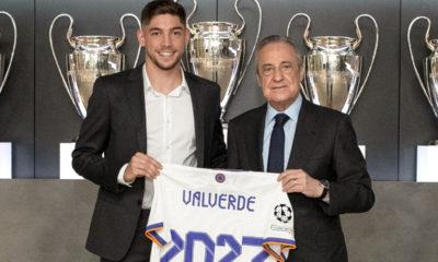 Valverde se queda con el Real Madrid. Foto: Twitter
