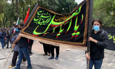 Se manifiestan musulmanes en Paseo de la Reforma