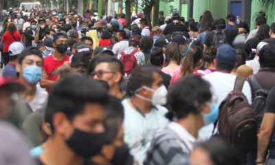 ¡Se acabaron las Pfizer!, ahora vacunan con Sinovac a chavos de Xochimilco