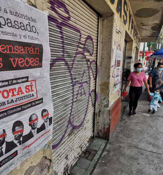 Consulta ciudadana no era juicio sumario para expresidentes: AMLO