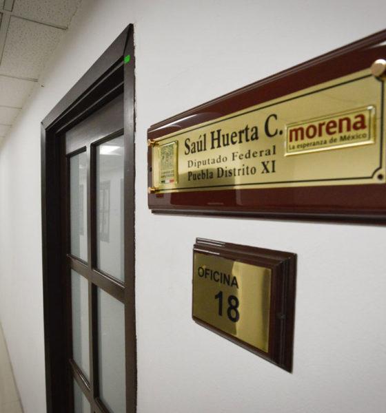 El diputado sin fuero, Saúl Huerta, tiene amparo por violación equiparada