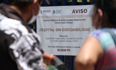 Difunden lista de hospitales saturados por casos de Covid-19