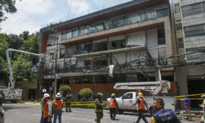 """Mala instalación de """"lava-secadora"""" causa de explosión en Benito Juárez"""