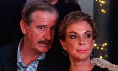Vicente Fox y su esposa. Foto: Cuartoscuro