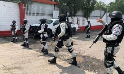 Guardia Nacional resguarda instalaciones de gas