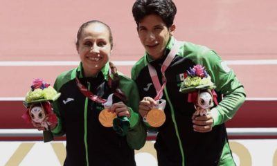 Mónica Rodríguez y Kevin Aguilar