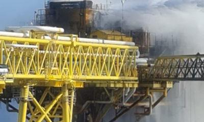 Pemex restablece producción en plataforma incendiada