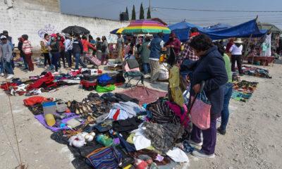 ¡Llévele, marchanta!, ropa y calzado gratis en el Tianguis del Bienestar
