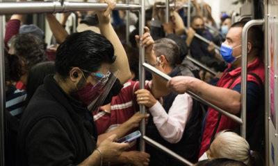 Metro, el transporte más utilizado durante la tercera ola de Covid