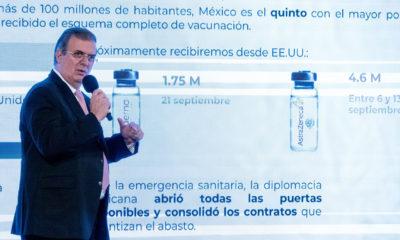 México prevé terminar con 150 millones de vacunas anticovid este año