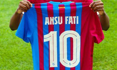 Ansu Fati se queda con el Barcelona en lugar a Messi. Foto: Twittter