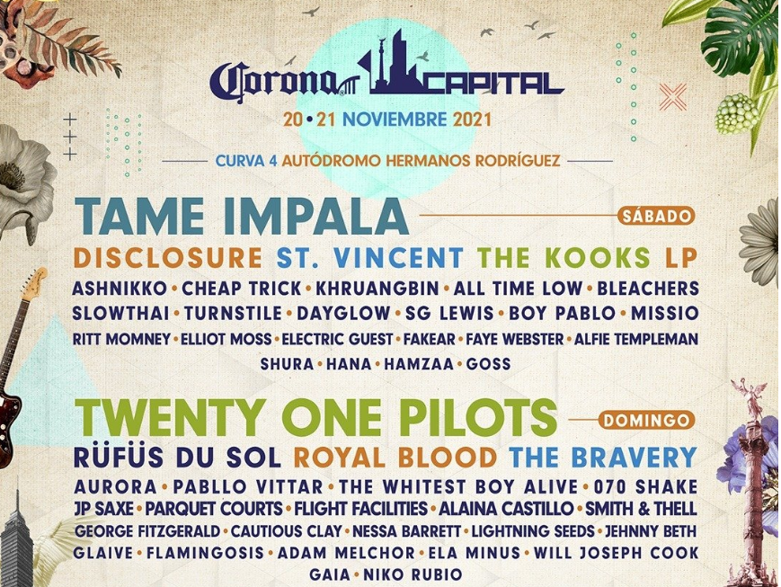Corona Capital 2021 cartel