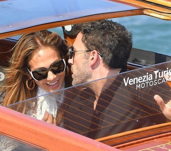 Ben Affleck y Jennifer López