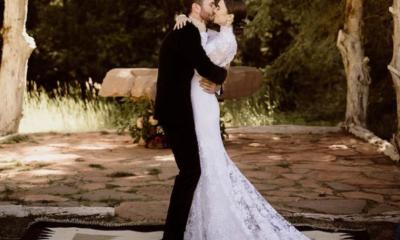 boda de Lilly Collins