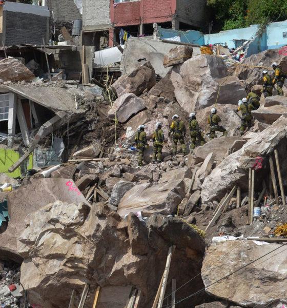 Ubican cuerpos de Paola y Dilan en Cerro del Chiquihuite