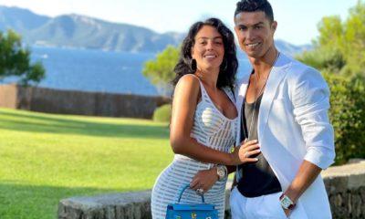 Cristiano Ronaldo con su familia. Foto: Twitter