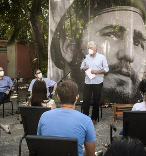 """""""Un honor llegar a tierra azteca"""": Presidente de Cuba"""