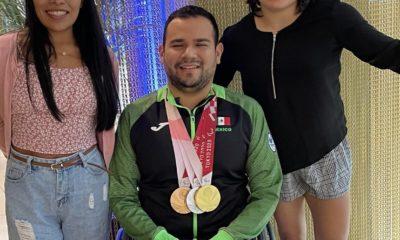 Diego López, medallista en Tokio. Foto: Twitter