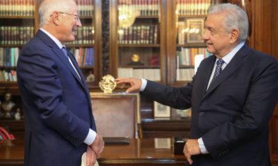 Ken Salazar ya es el nuevo embajador de EU en México