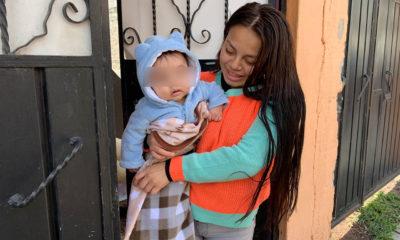 """""""Héroe salvó a mi hijo"""", madre de bebé rescatado en Ecatepec"""