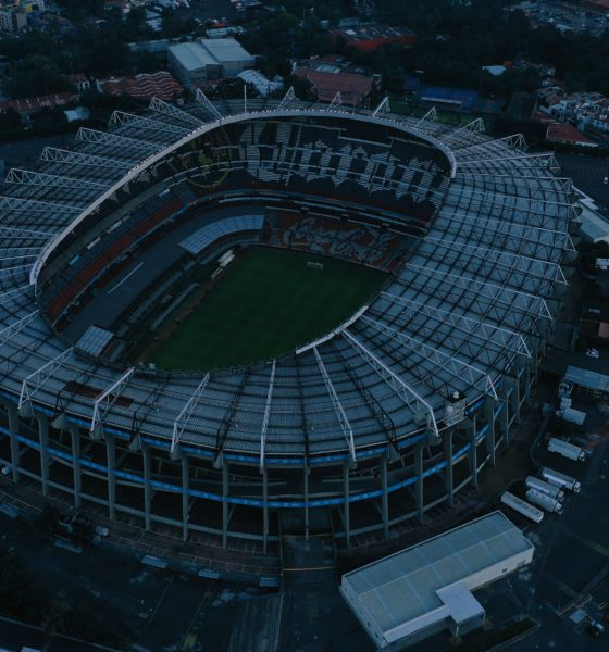 Estadio Azteca. Foto: Twitter