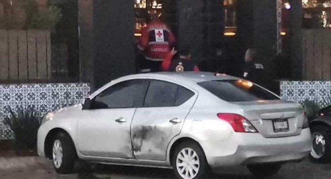 Explota paquete bomba en Salamanca. Foto: Twitter