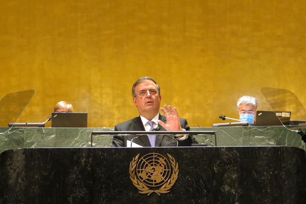 México aboga por Cuba y Venezuela en Naciones Unidas