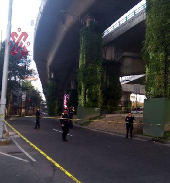 Volcadura por exceso de velocidad deja un muerto en Álvaro Obregón