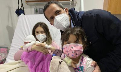 """""""Una nueva vida es esperanza y certeza en el futuro"""", Guaidó al anunciar nacimiento de su hija"""