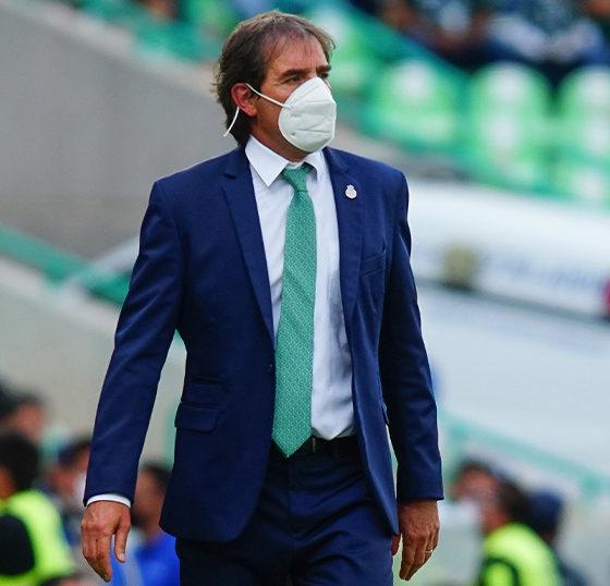Guillermo Almada, técnico de Santos. Foto: Twitter