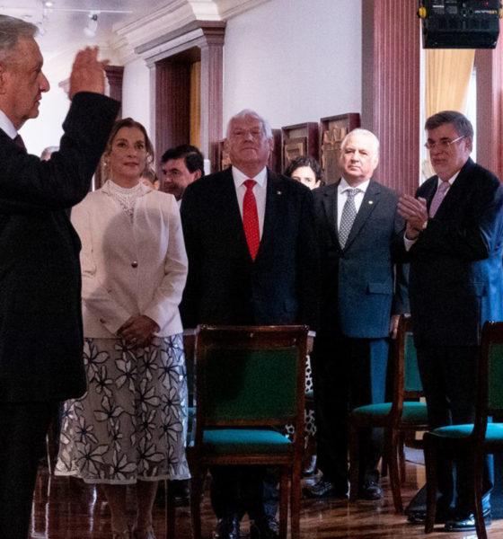 ¿Renunció Julio Scherer al gabinete de AMLO?, vocero presidencial aclara
