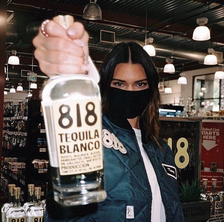 Kendall Jenner ya tiene su Tequila