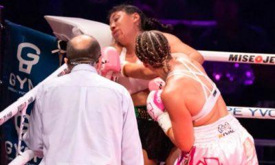 Lamenta boxeadora muerte de Zacarías. Foto: Twitter