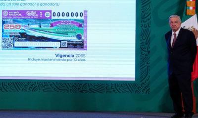 Tras convocar a los ciudadanos a participar en el sorteo 248 de la Lotería Nacional, el presidente Andrés Manuel López Obrador dijo que la recaudación que se logre será destinada a premiar a los deportistas que participaron en los juegos de Tokio 2020.