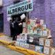 Marinos entregan despensas a familias damnificadas en el Cerro del Chiquihuite