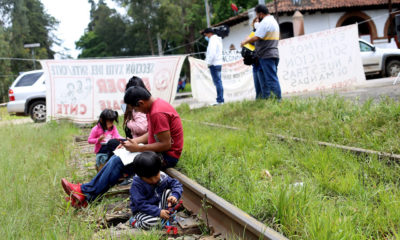 Urge CCE a terminar con secuestro de vías férreas en Michoacán