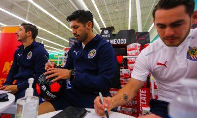 Oribe Peralta con Chivas. Foto: Twitter