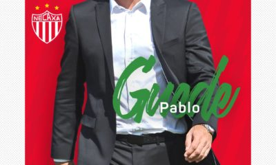 Pablo Guede llega a Necaxa. Foto: Twitter