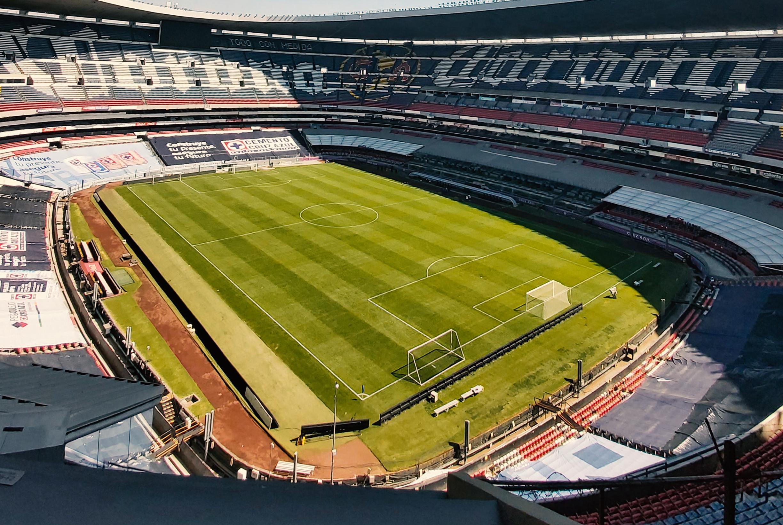Palco del Estadio Azteca el Premio Mayor. Foto: Twitter