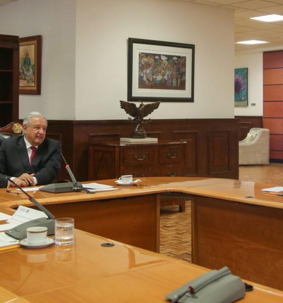 Pide López Obrador que acabe la política de bloqueos. Foto: Twitter