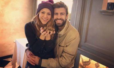 Relación entre Piqué y Shakira. Foto: Twitter