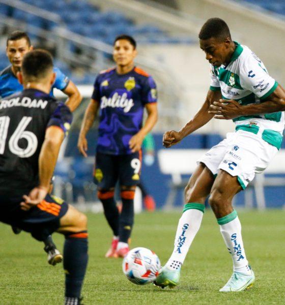 Santos cayó con el Seattle en las Leagues Cup. Foto: Twitter