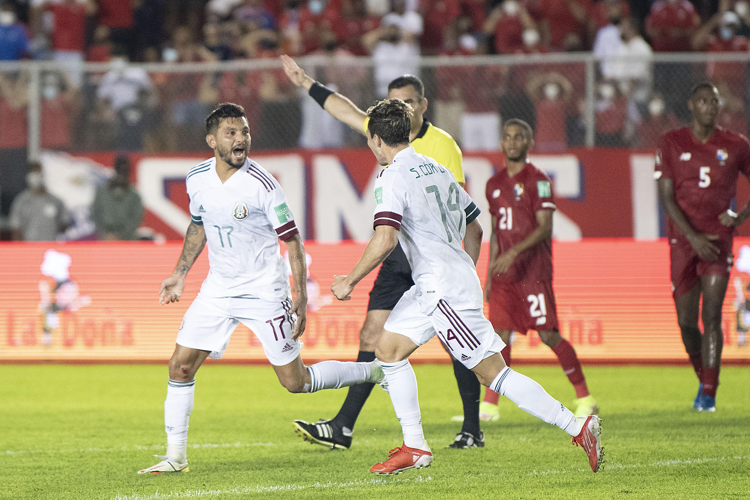 Selección Mexicana empató con Panamá. Foto. Twitter